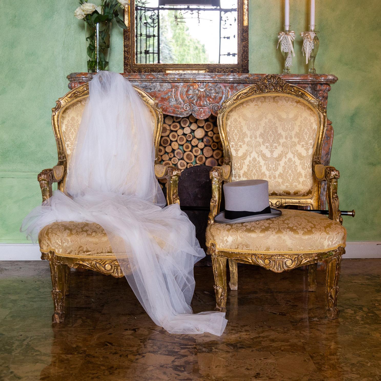 Cerimonie - Matrimonio Ale e Micky a Stezzano - Velo e cappello