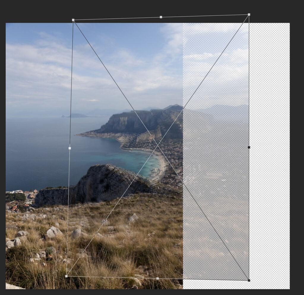Corsi - Photoshop base - Immagine in fase di post-produzione
